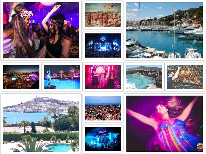 fiesta de despedida en Ibiza