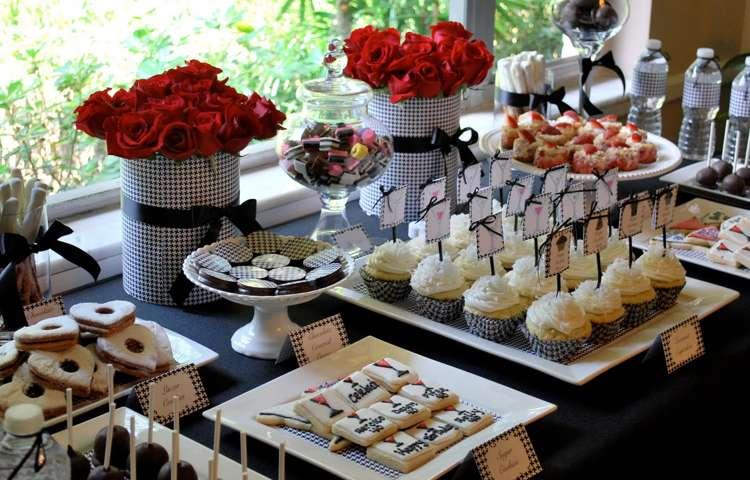 fotos de mesa de comida