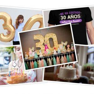 Cómo organizar una fiesta por el 30 cumpleaños