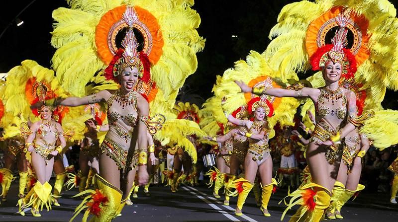 fiesta de carnaval de Tenerife
