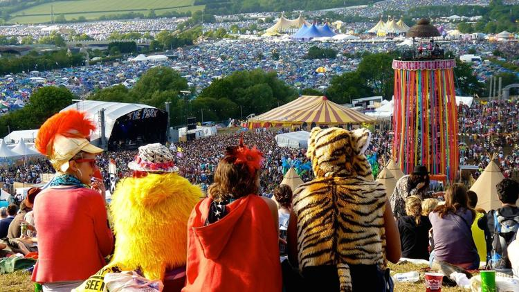 fiesta en glastonbury