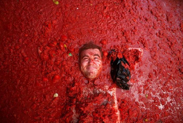 tomatina buñol despedida