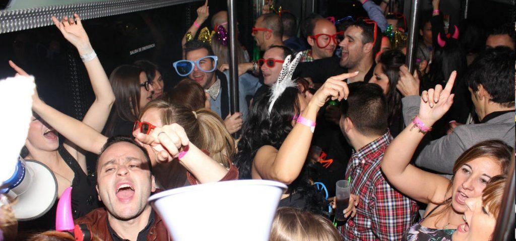Despedidas de solteras en autobus discoteca