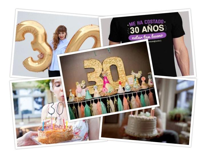 fiesta de cumpleaños de 30