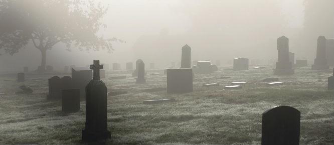 el cementerio despedidas