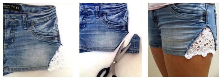 short pantalones