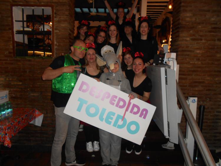 aimgas en despedida en Toledo